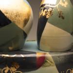 2 Vases w/Pedestal (close-up)